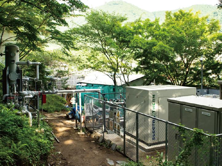 鳴子温泉バイナリー発電所