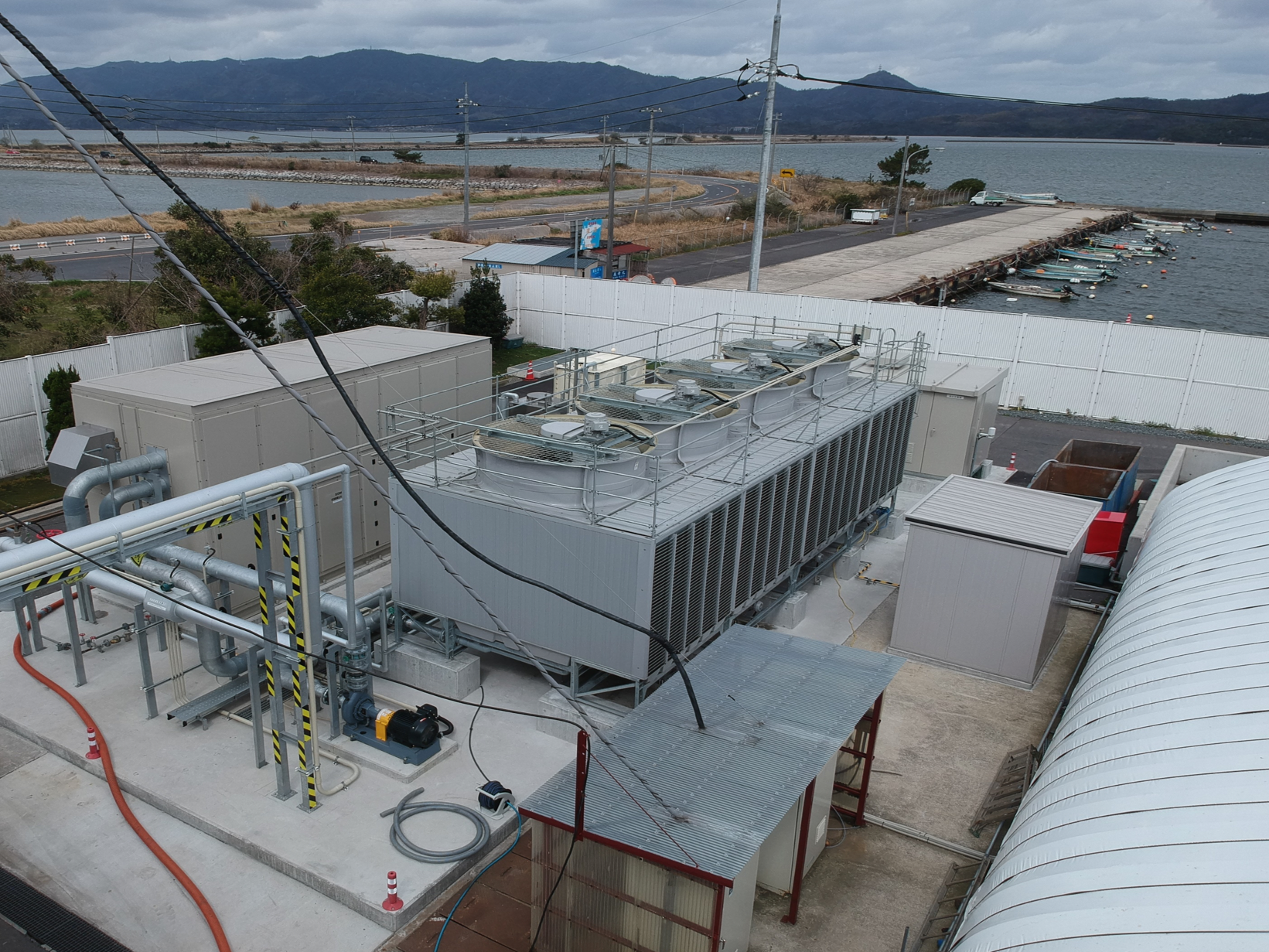 三光バイナリー発電所施設